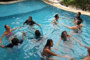 Biodanza acuática. Retorno al origen