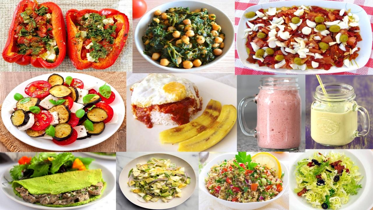 Cenas ricas y recetas ligeras para