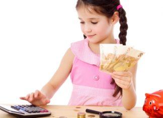 Los niños y el dinero